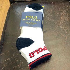 Polo Ralph Lauren Classic Sport Ankle Socks 3pk